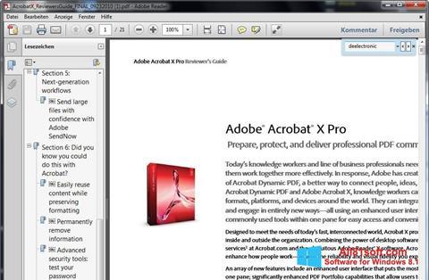 Screenshot Adobe Reader Windows 8.1