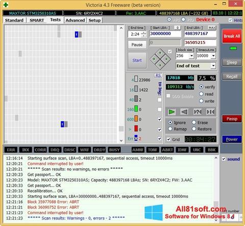 Screenshot Victoria Windows 8.1