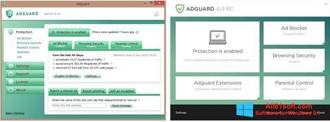 Screenshot Adguard Windows 8.1
