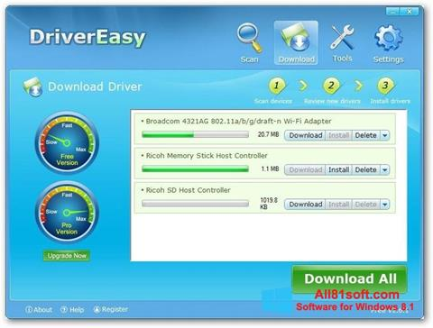 Screenshot Driver Easy Windows 8.1