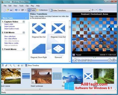 Screenshot Windows Movie Maker Windows 8.1