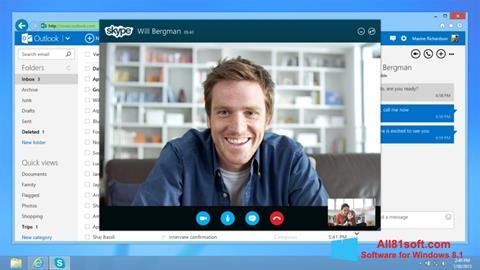 Screenshot Skype Windows 8.1